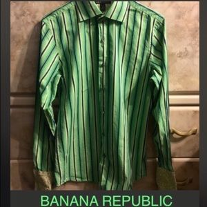 Banana republic button down shirt